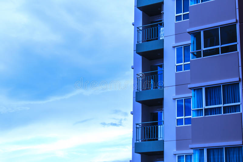 Condo view stock images