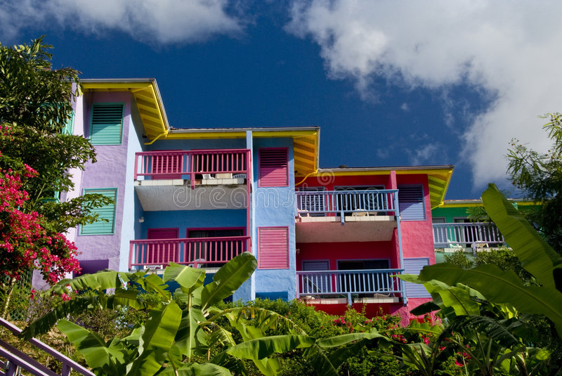 Condo Villas at Leverick Bay royalty free stock image