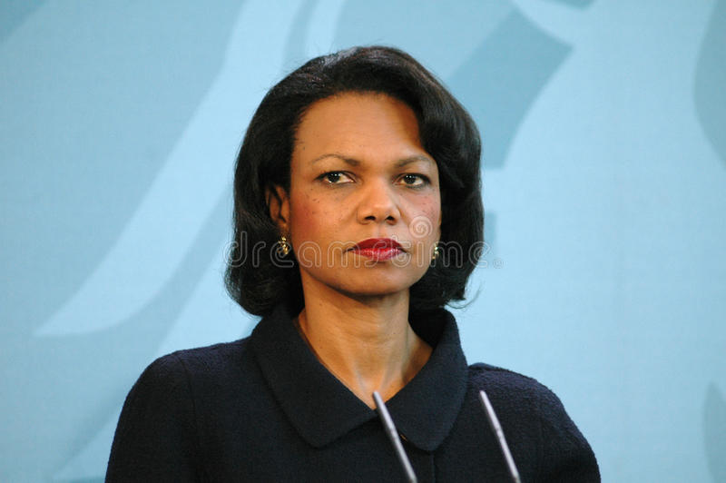 Condoleezza Rice stockfotos