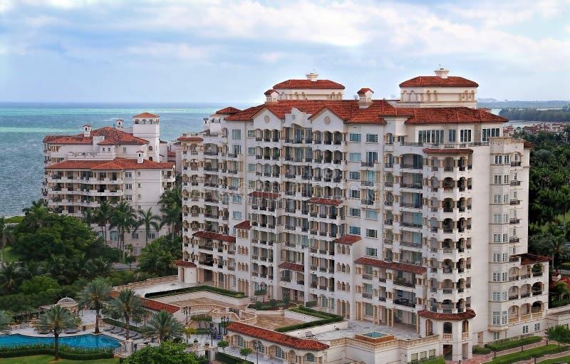 Condomínio de Miami foto de stock