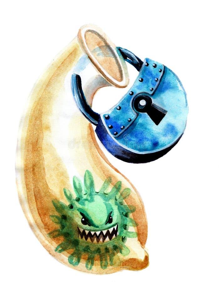 condom ilustração do vetor