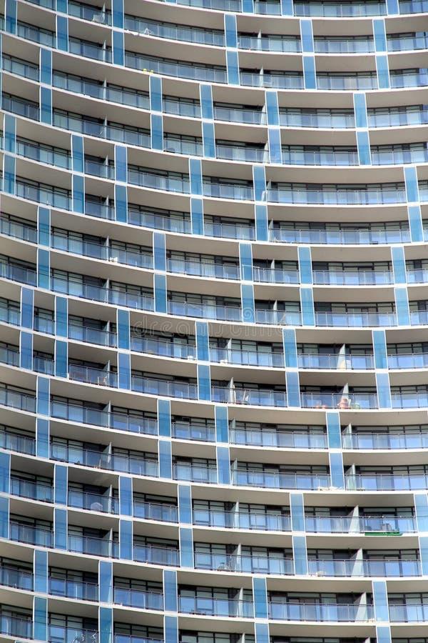 Condominio moderno fotografie stock libere da diritti