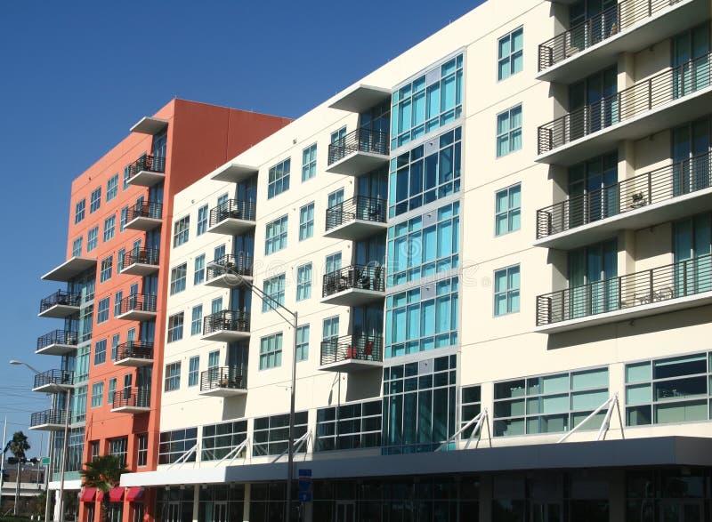 Condominios en Tampa fotos de archivo libres de regalías