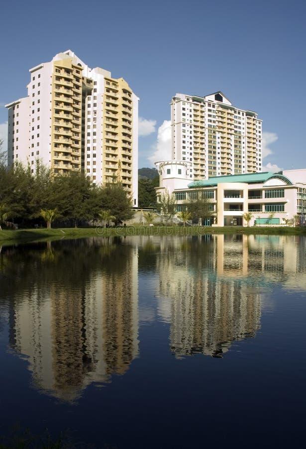 Download Condominium stock image. Image of resident, rise, building - 789285