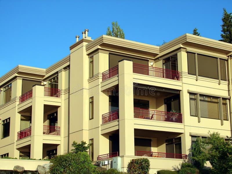 Condominium/Apartment Complex. A nice looking condominium complex royalty free stock photo