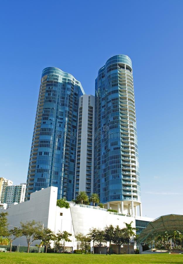 Free Condominium At Las Olas, Ft. Lauderdale Royalty Free Stock Photography - 3972317