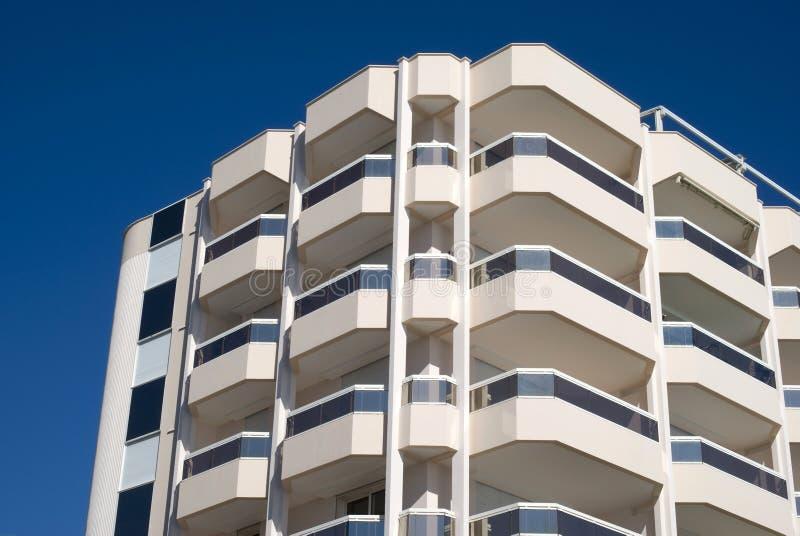 Condominium building stock image