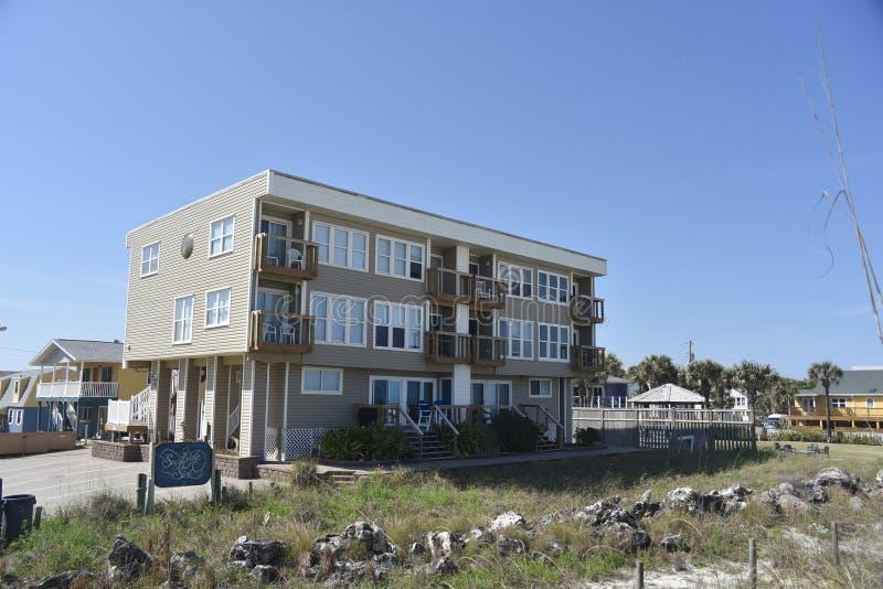 Condominium Jacksonville, la Floride de Surfside image libre de droits