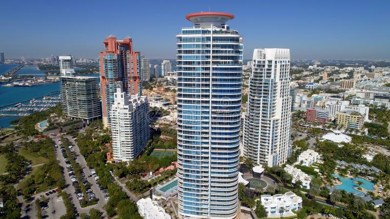 Condominium Miami Beach la Floride de continuum photographie stock libre de droits