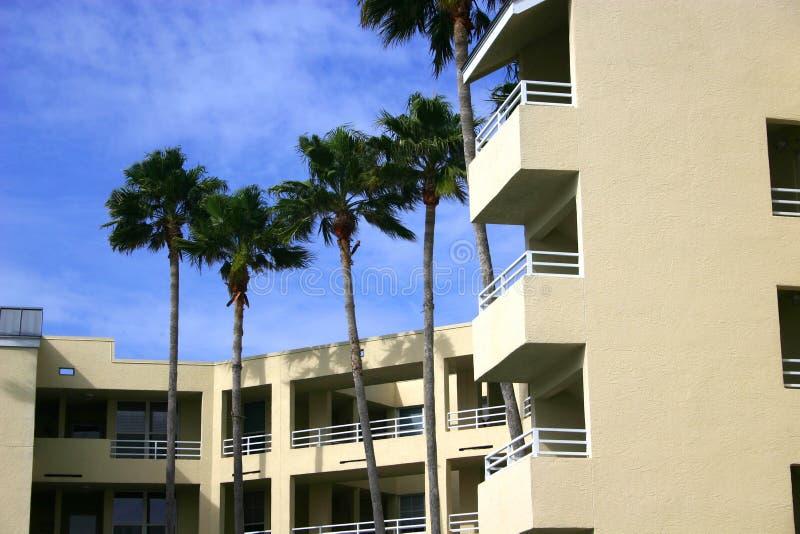 Condominium in Tropics royalty free stock image