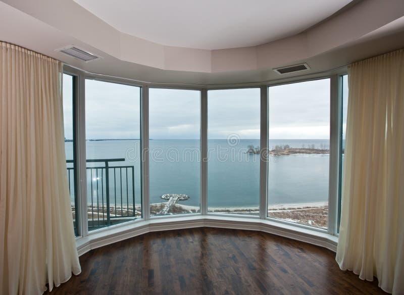 Condominium Window stock photography