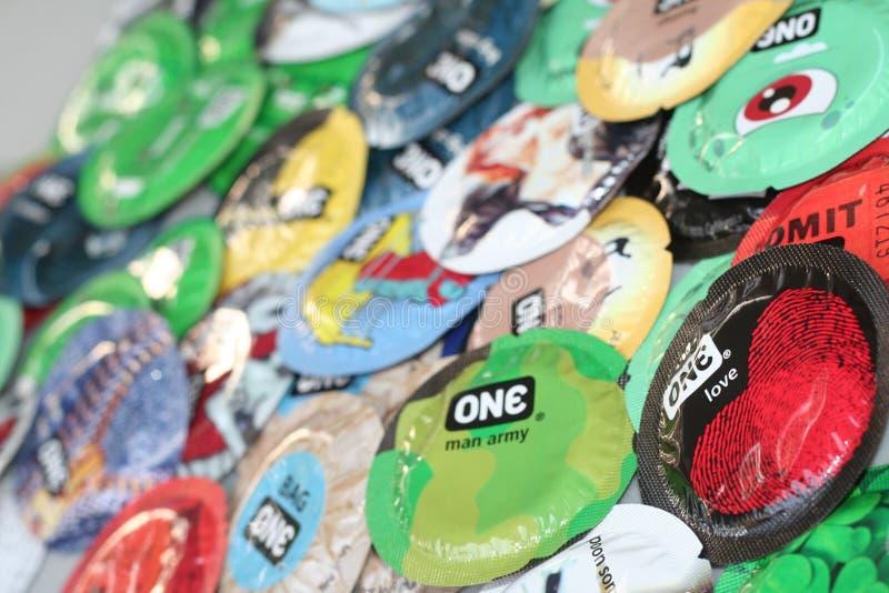 condoms royalty-vrije stock fotografie