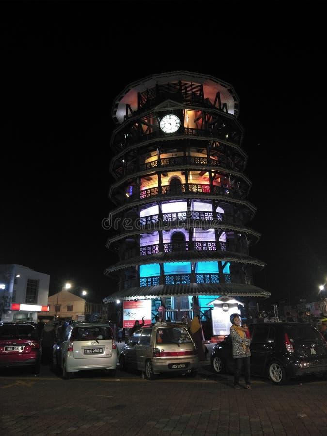 Condong Menara стоковая фотография rf
