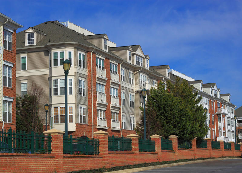 condominium royalty free stock photography