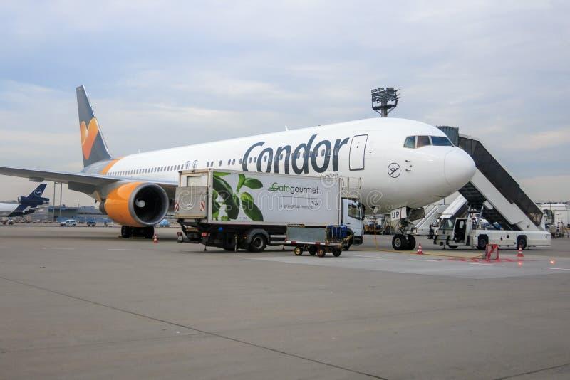 Condor Boeing 767-300 stock fotografie