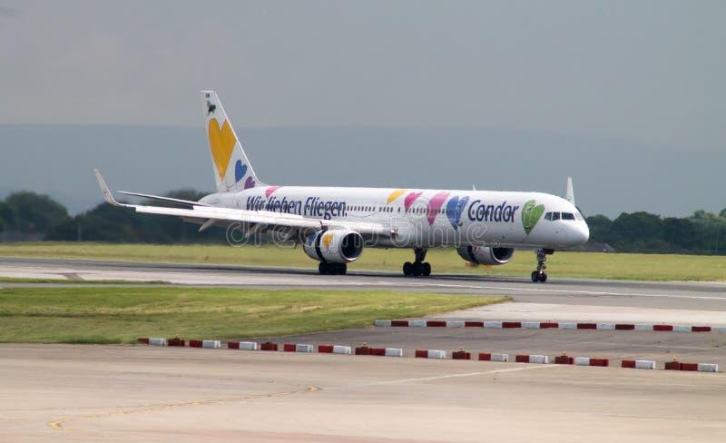 Condor Boeing 757 stock foto