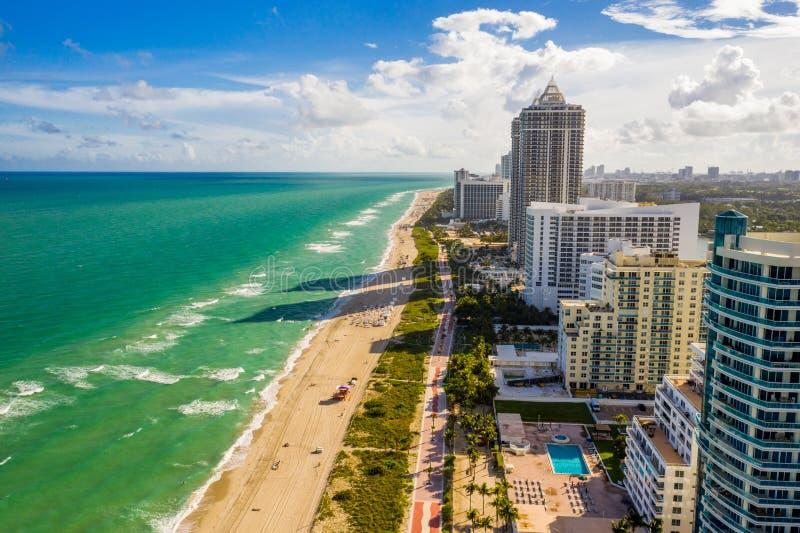 Condos on Miami Beach FL fotografia stock