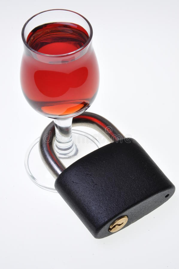 Condução após o álcool imagens de stock