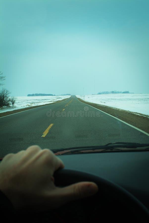 Download Condução Através Do Midwest Durante O Inverno Imagem de Stock - Imagem de curso, país: 535487