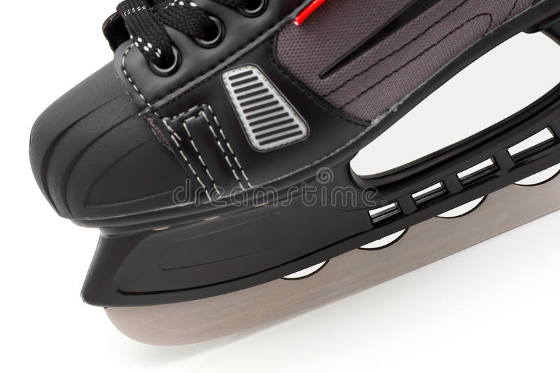 Condução em patins de gelo. fotos de stock