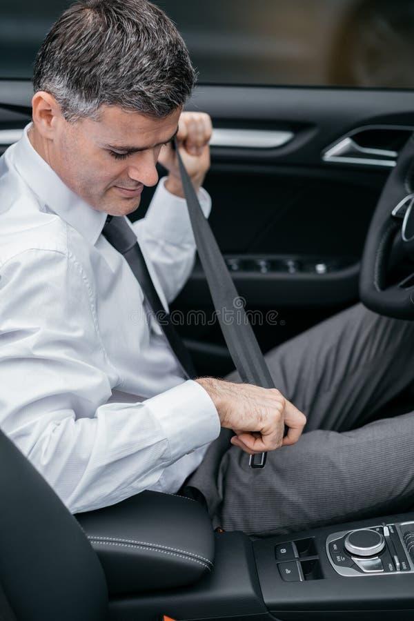 Condução segura imagem de stock