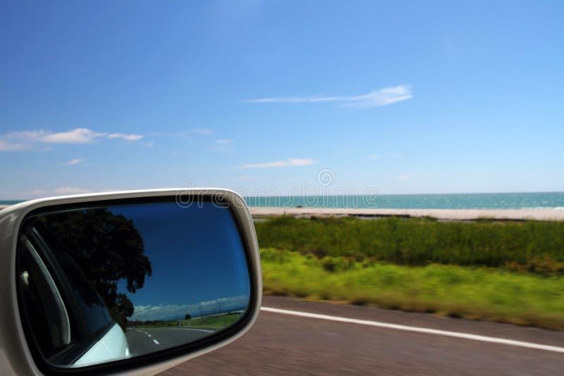 Conducción de la costa fotografía de archivo