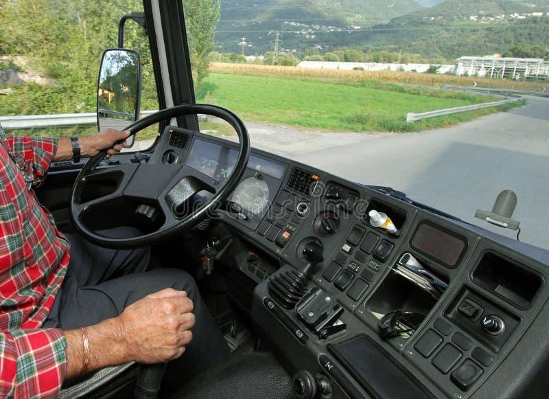 Conducción del camión imágenes de archivo libres de regalías