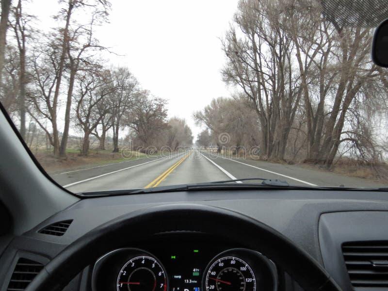 Conducción del coche fotos de archivo