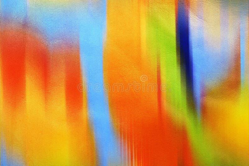 Conducta desordenada de cuero de colores ilustración del vector
