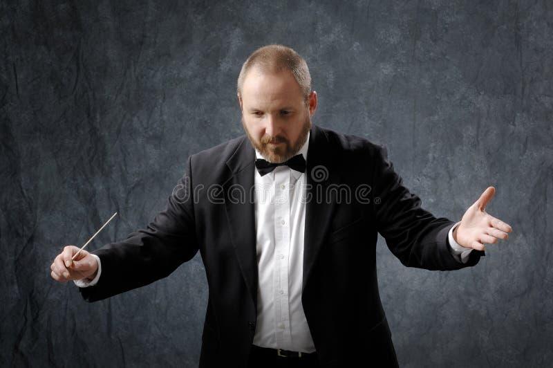 Conducteur de symphonie photos stock