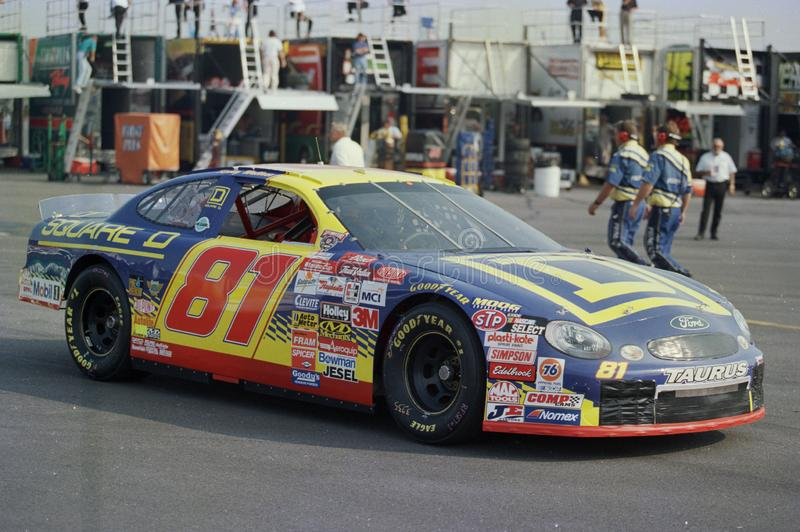 Conducteur Kenny Wallace de NASCAR images stock