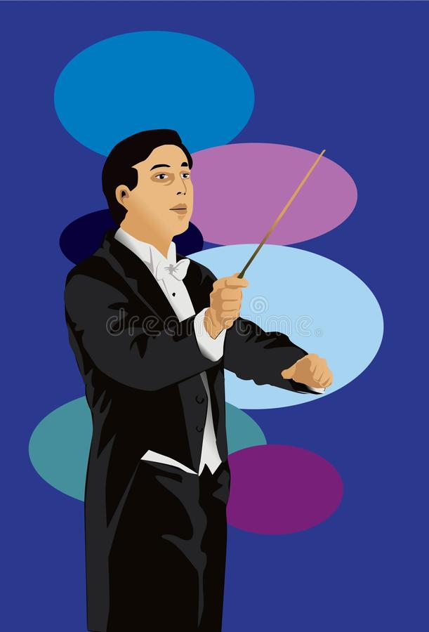The Conductor Royalty Free Stock Image