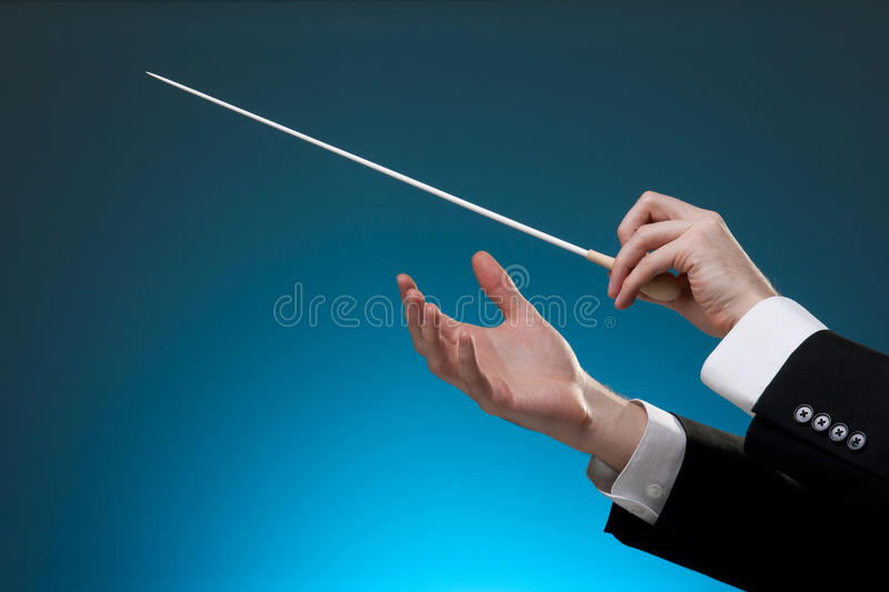 Download Conductor stock image. Image of instructor, arts, horizontal - 23310313