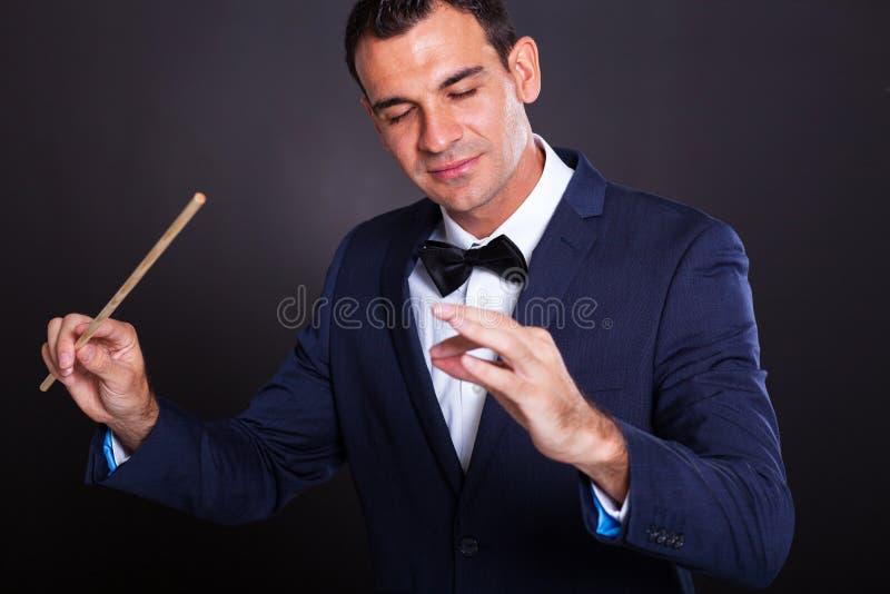 Conductor imagen de archivo