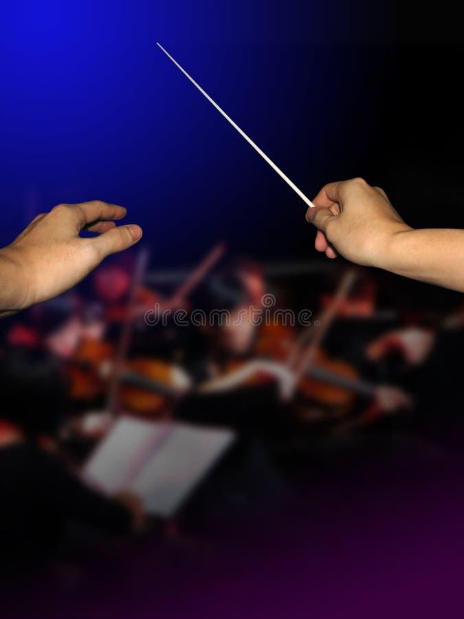 Conductor de orquesta fotos de archivo libres de regalías