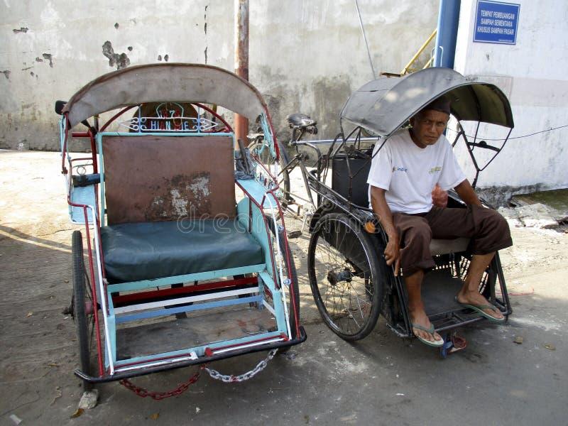 Conductores del carrito foto de archivo libre de regalías