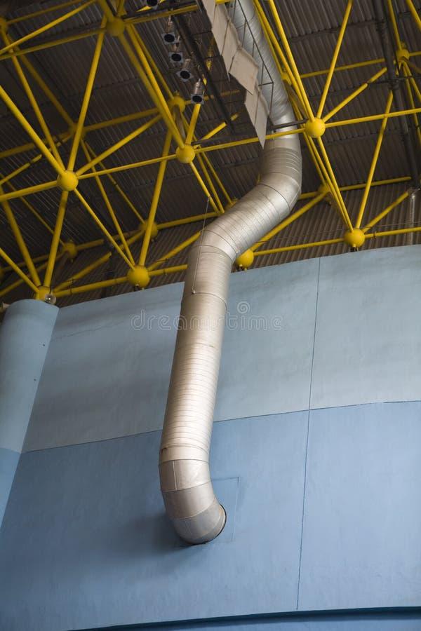 Conductos de ventilación foto de archivo libre de regalías