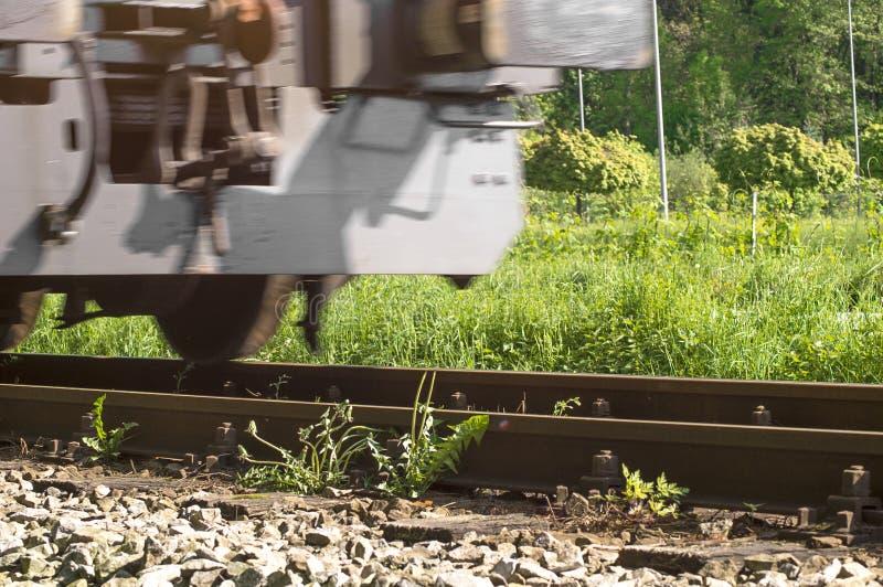 Conduire le train photo stock