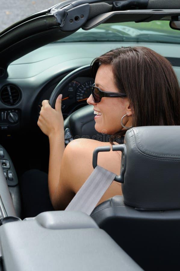 Conduire mon véhicule photo libre de droits