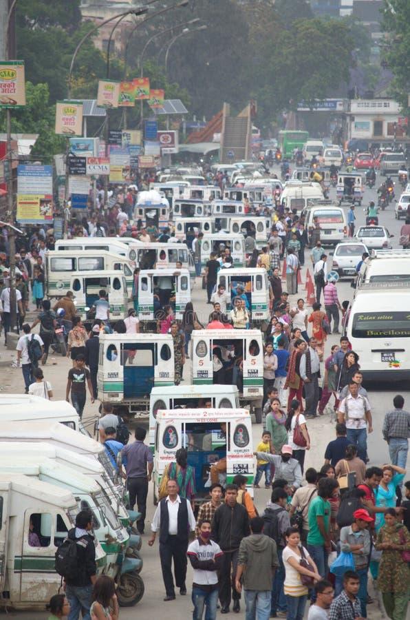 Conduisez Katmandou image libre de droits