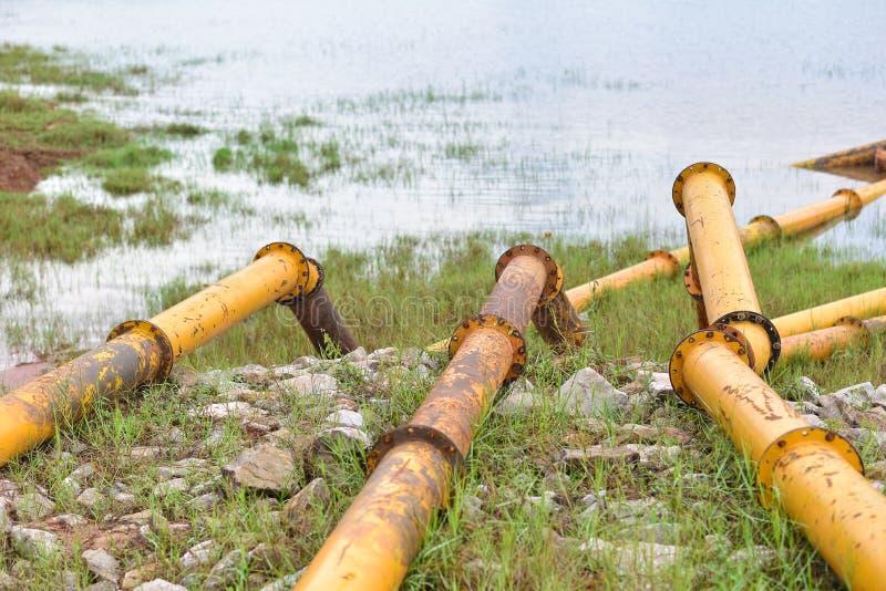 Conduite d'eau photos libres de droits