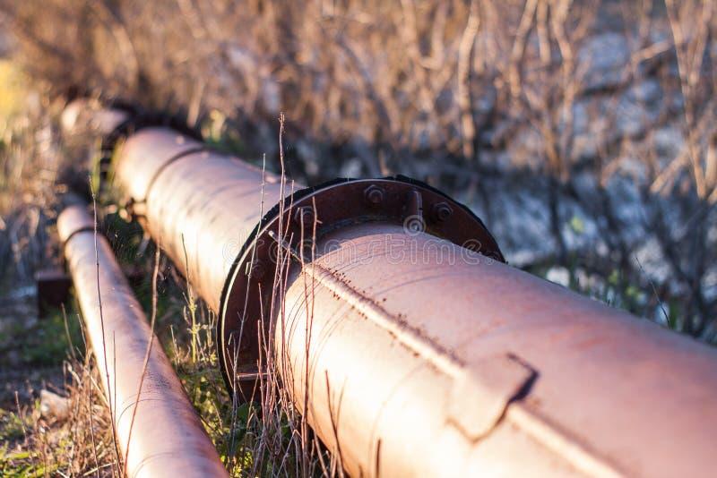 Conduite d'eau extérieure photo libre de droits