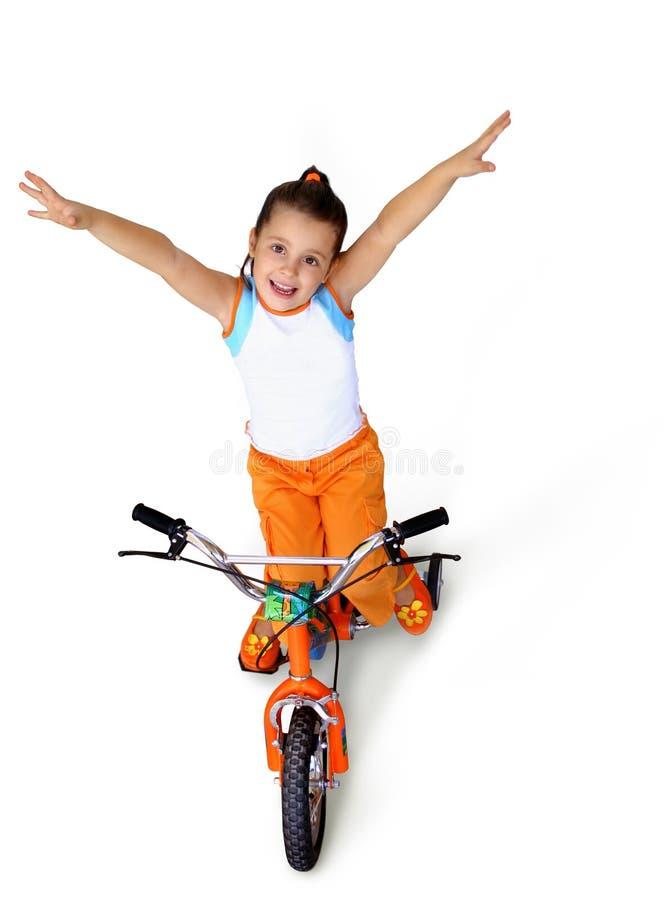 Conduite de bicyclette photo stock