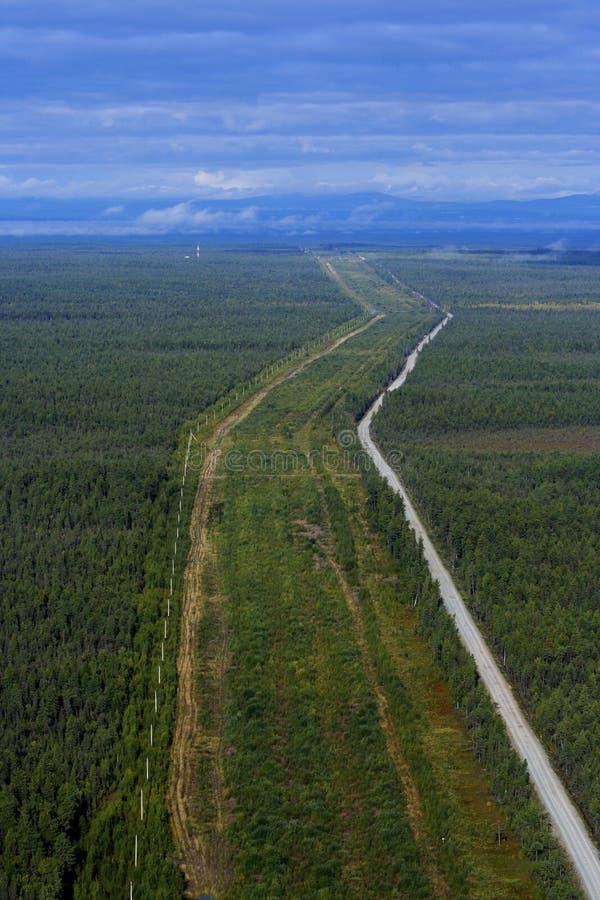 Conduite de gaz naturel photographie stock libre de droits