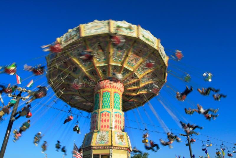 Conduite de parc d'attractions photos stock