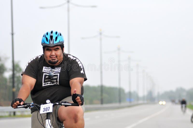 Conduite royale 2011 de ville de Pekan photographie stock