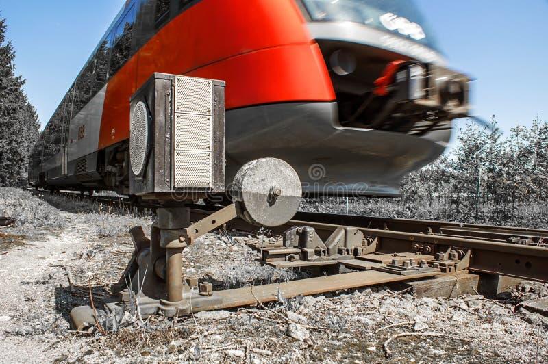 Condurre treno  fotografia stock