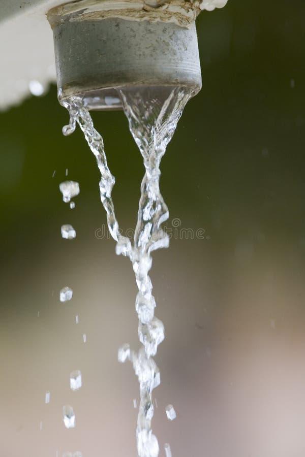 Conduto pluvial imagem de stock