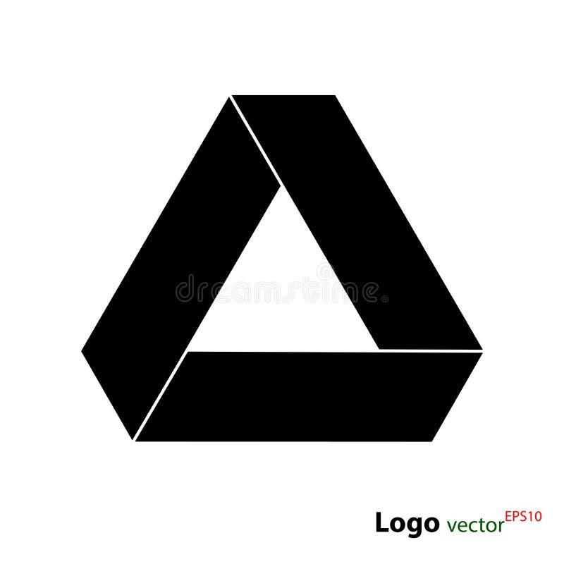 Conduza o logotype, ícone liso do vetor isolado no fundo branco, ilustração conservada em estoque para o design web ilustração royalty free