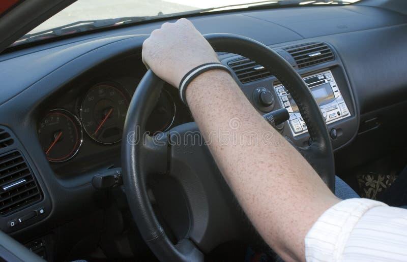 Conduzindo o carro foto de stock